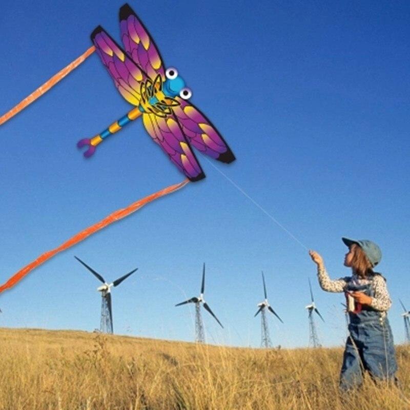 Neue Ankunft Kinder libelle Kite Kreative Tier Drachen Nette biene schmetterling Kite Einfach zu Fliegen Outdoor Sport Spielzeug Drachen Kinder geschenk