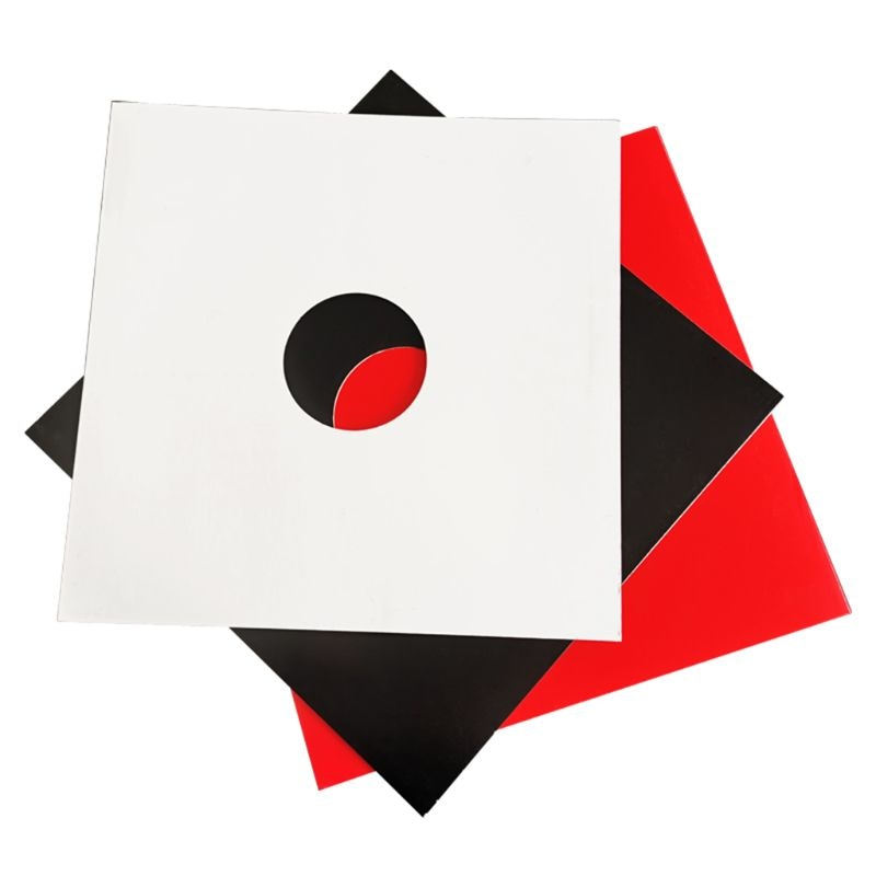 Anti-static Hard Shell Paper Inner Sleeves Polylined Protectors with Hole for 7/10/12 Inches LP Vinyl Record Album Accessories