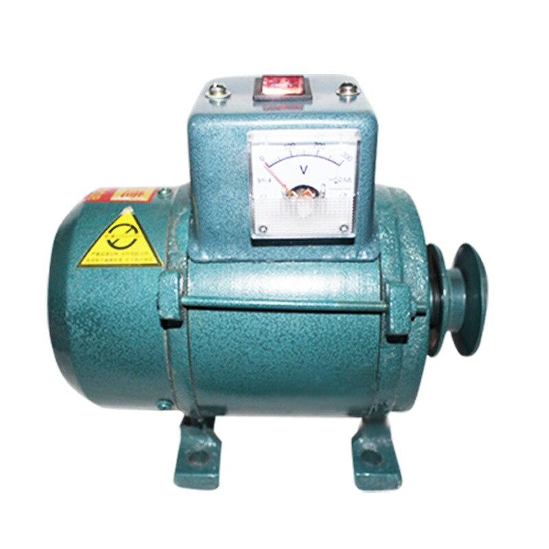 Correa de generador de gasolina para el hogar 3500W220V pequeño cable de cobre puro en miniatura