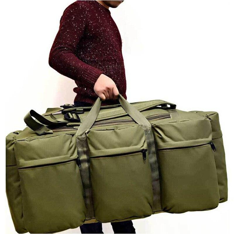 90l grande capacidade homem tático mochila militar assalto sacos à prova dwaterproof água ao ar livre esporte caminhadas acampamento escalada saco