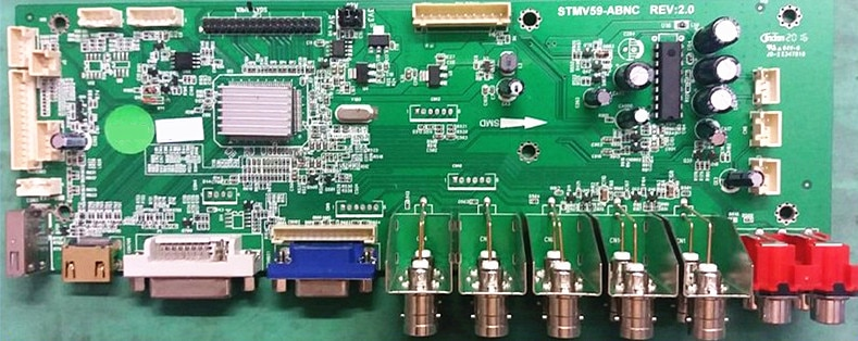 الأصلي STMV59-ABNC اللوحة الملحقات اللغة