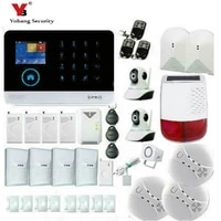 YobangSecurity     systeme dalarme WIFI 3G WCDMA  camera IP video sans fil  securite domestique  sirene anti-cambriolage a energie solaire
