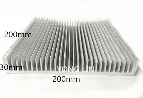 Фото - Алюминиевый радиатор 1 шт. 200*30-мм/Промышленный радиатор шасси/светодиодный радиатор/радиатор электрической коробки радиатор
