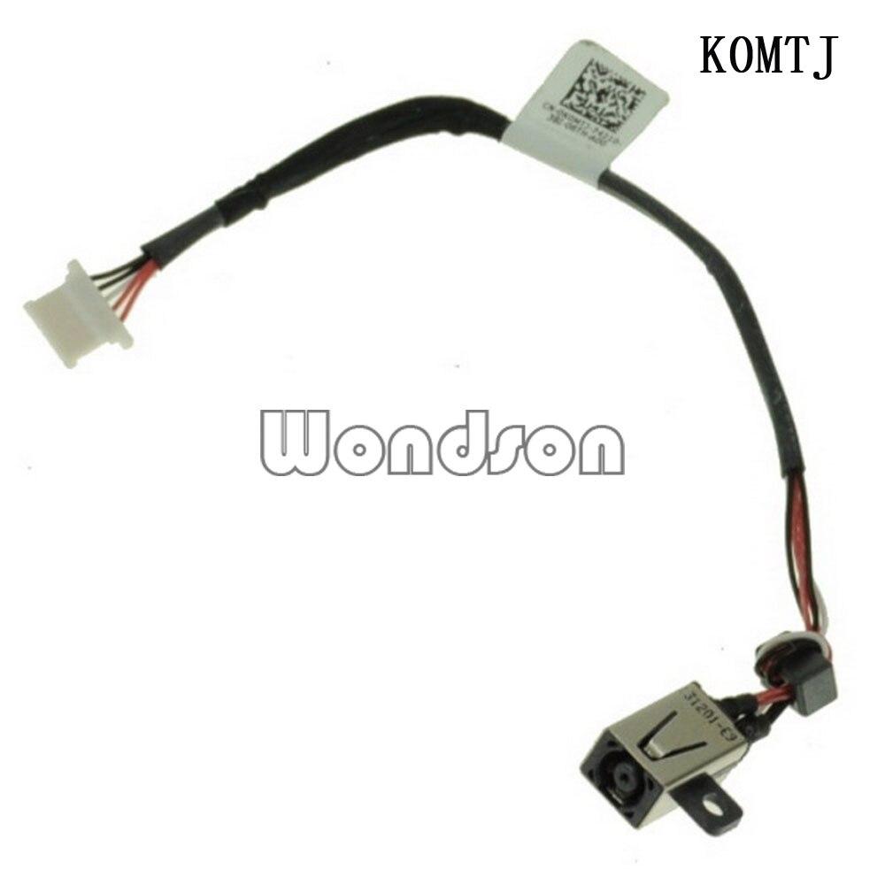 DC кабель для Dell XPS 13 9333 DC входной разъем питания с кабелем-K0MTJ 0K0MTJ w/1 год гарантии