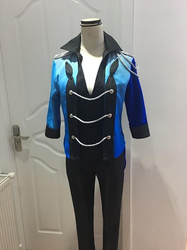 ¡Anime YURI! On ICE Katsuki Yuri Cosplay disfraz YURI on ICE uniforme traje ropa camisa y abrigo y pantalones y guantes