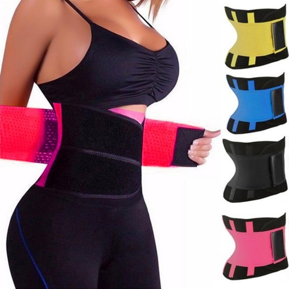 Hot Shapers Women Body Shaper Slimming Shaper Belt Girdles Firm Control Waist Trainer Cincher Plus size S-3XL Shapewear