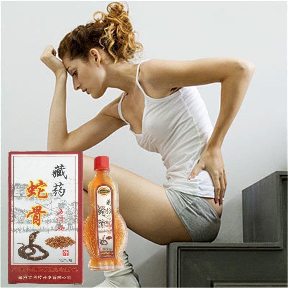 Parches de hierbas tradicionales chinas, analgésicos, dolores musculares, alivia el dolor de King cobra, bálsamo de veneno, 15ml