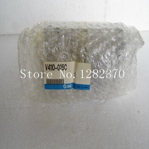 [SA] nova mancha original autêntico SMC válvula solenóide V4110-025C