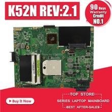 K52N carte mère REV 2.1 pour ASUS X52N K52N K52D ordinateur portable carte mère K52N K52N carte mère test 100% ok