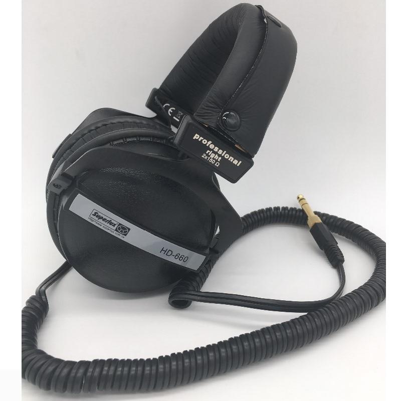 Pro studio monitor наушники Superlux HD-660 HD660 динамический мониторинг Hifi наушники для записи стерео DJ наушники
