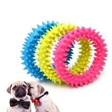 Jouets pour animaux domestiques   Jouets en forme de boule, résistant à lanneau, jouets pour chiens, jouets pour chiens, jouets en caoutchouc Molar pour chien, produits danimaux