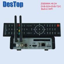 Оригинальная версия 4K UHD, ТВ приставка ZGEMMA H9.2H, Linux OS, DVB S2X, t2 тюнеры HEVC, H.265, декодер bulit, Wi Fi