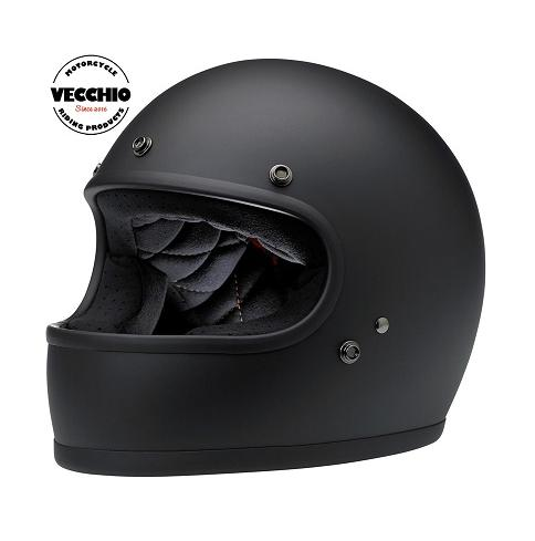 VECCHIO-خوذة دراجة نارية لكامل الوجه ، معدات حماية للدراجات النارية ، موتوكروس ، ريترو ، DOT