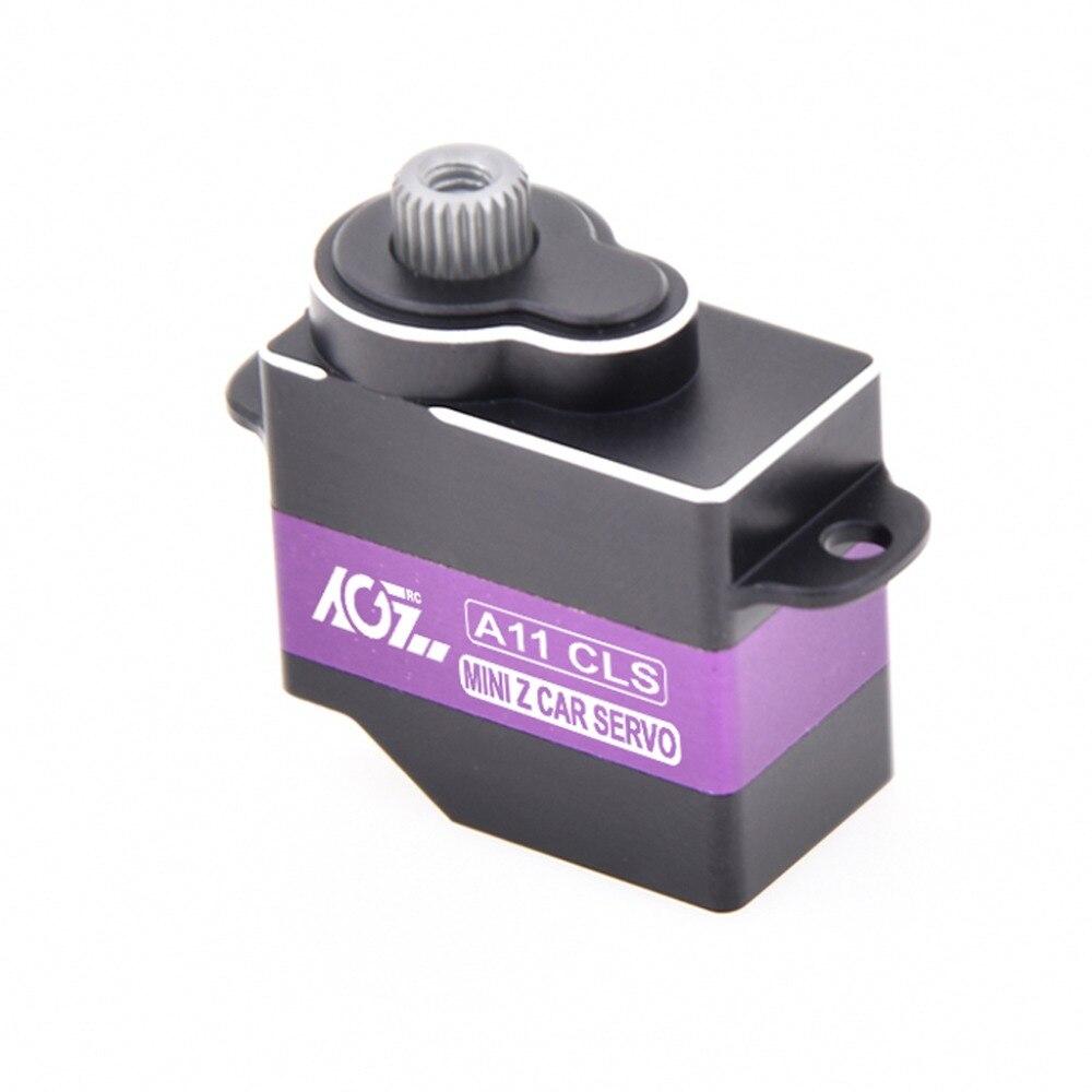 AGF 13g digital micro servo A11CLS con engranaje metálico de 2,35/2,5 kg par cepillo RC servo para RC avión