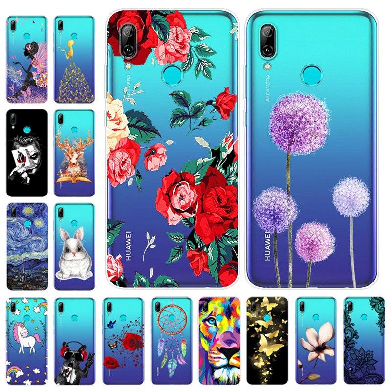 Cartoon Case Huawei P Smart 2019 Case Soft Silicone Back Cover Phone Case For Huawei P Smart 2019 Smart2019 POT-LX1 POT-LX3