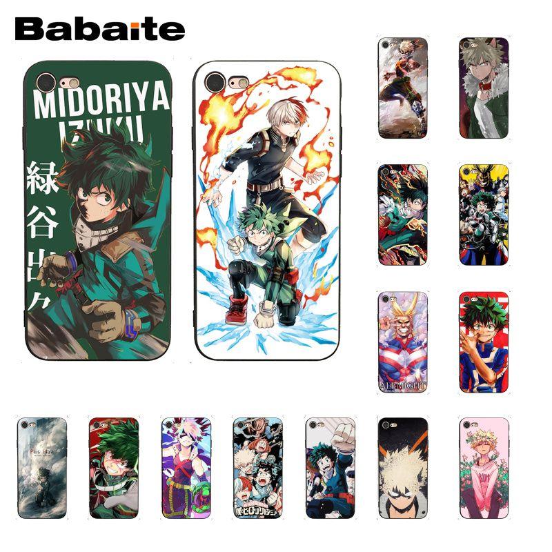 Чехол для телефона Babaite Anime My Hero Boku no Hero academic deku bakugou для iphone 11 Pro 11Pro Max X XS MAX 6 6S 7 8 Plus 5 5S XR