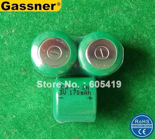 Super calidad 170mAh CR1/3N baterías de litio de 3V DL1/3N 2L76 CR1 3N CR11108