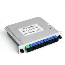 1X8 Splitter Fiber Optical Box FTTH PLC Splitter box with 1X8 Planar Waveguide Type Optical splitter SC APC