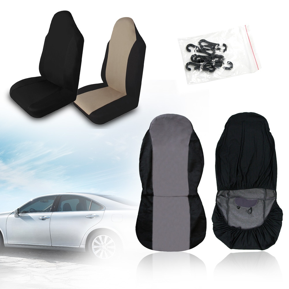 Universal capa de assento do carro durável frente automotivo cadeira traseira dupla malha cobre almofada protetor para suv acessórios automóveis