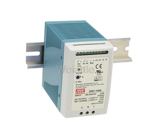 MEAN WELL original DRC-100A 12V 13.8V 12-15V DRC-100 4.5A 2.5A 96.6W Single Output with Battery Charger (UPS Function)