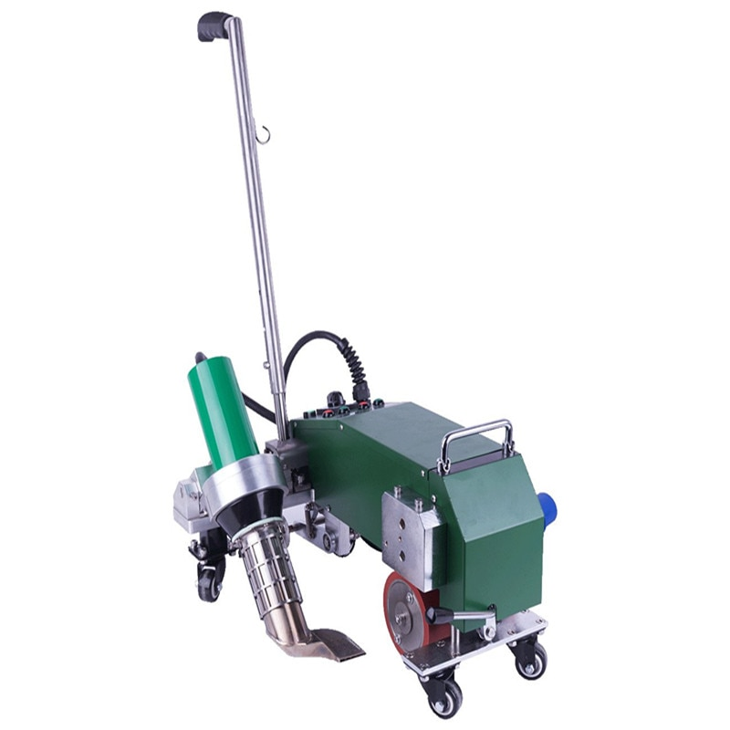 4200 W de Ar Quente Máquina De Solda para PVC PE Impermeabilização Do Telhado EPDM material de cobertura SUPERIOR
