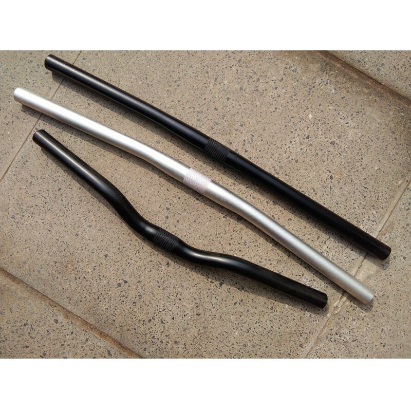 16 / 20 Inch Folding Bike Handlebar 25.4mm 460mm Swallow-shaped Handlebar 545mm 565mm Horizontal Handlebar Bicycle Accessories