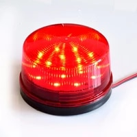 Sirene stroboscopique filaire 12 24V 220V  voyant davertissement  Flash sirene lampe a LED  lampe pour systemes dalarme de securite domestique