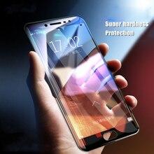 Verre Trempé pleine Couverture Pour Samsung Galaxy A8 Plus J6 J8 2018 A5 A3 A7 2016 J5 J3 J7 2017 S6 S7 J5 Premier Note 3 4 5 Protecteur