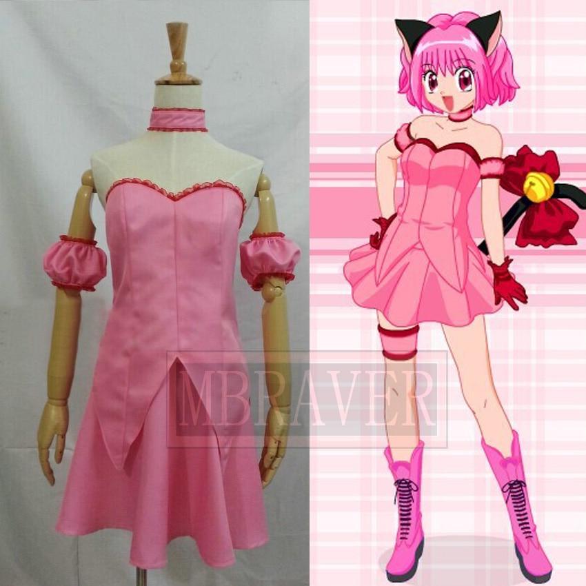 Tokyo Mew Mew Ichigo Momomiya déguisement Cosplay