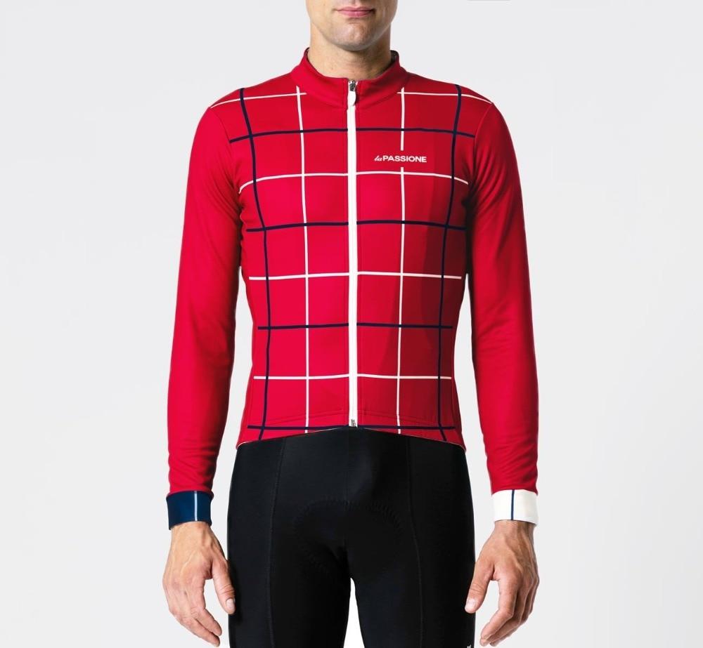 2018 mejor calidad Pro fit PSN 310g/m2 Invierno Polar polar ciclismo Jersey ropa de ciclismo de manga larga muy cálidas bicicleta gear