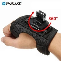 360 Degrees Wrist Band Arm Strap Belt Tripod Mount for GoPro Hero 8 7 6 5 4 3  2 Camera Fist Adapter Band for Go Pro Accessories
