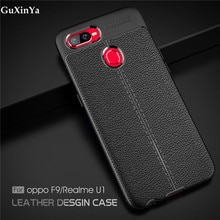 Cover For OPPO Realme U1 Phone Case Luxury Leather ShockProof TPU Protective Case For OPPO Realme U1