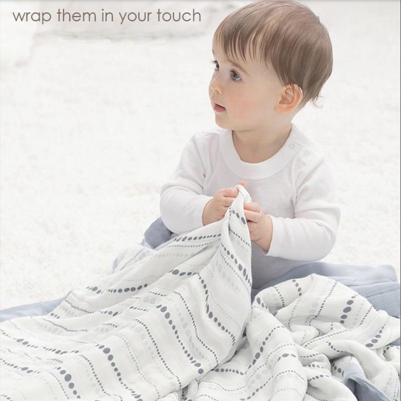 baby Swaddle Wraps Cotton Baby muslin Blankets Newborn 100% bamboo muslin quilt Newborns Swaddle Blanket