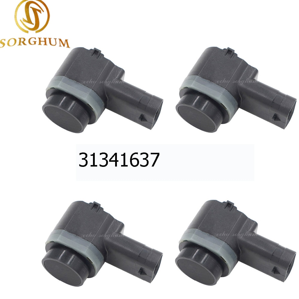 pdc parking sensor for volvo c70 s40 s60 s80 v50 v70 v70x xc90 30765108 30668099 30668100 30765408 4PCS PDC Parking Sensor 31341637 30786968 Bumper Object Reverse Assist Radar For VOLVO C30 C70 XC70 XC90 S60 S80 V70