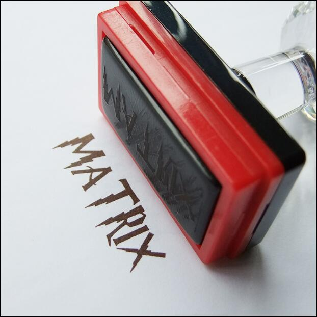 A) Envío Gratis, sello rectangular personalizado, sello fotosensible, logotipo personalizado, sello autoentintado personalizado