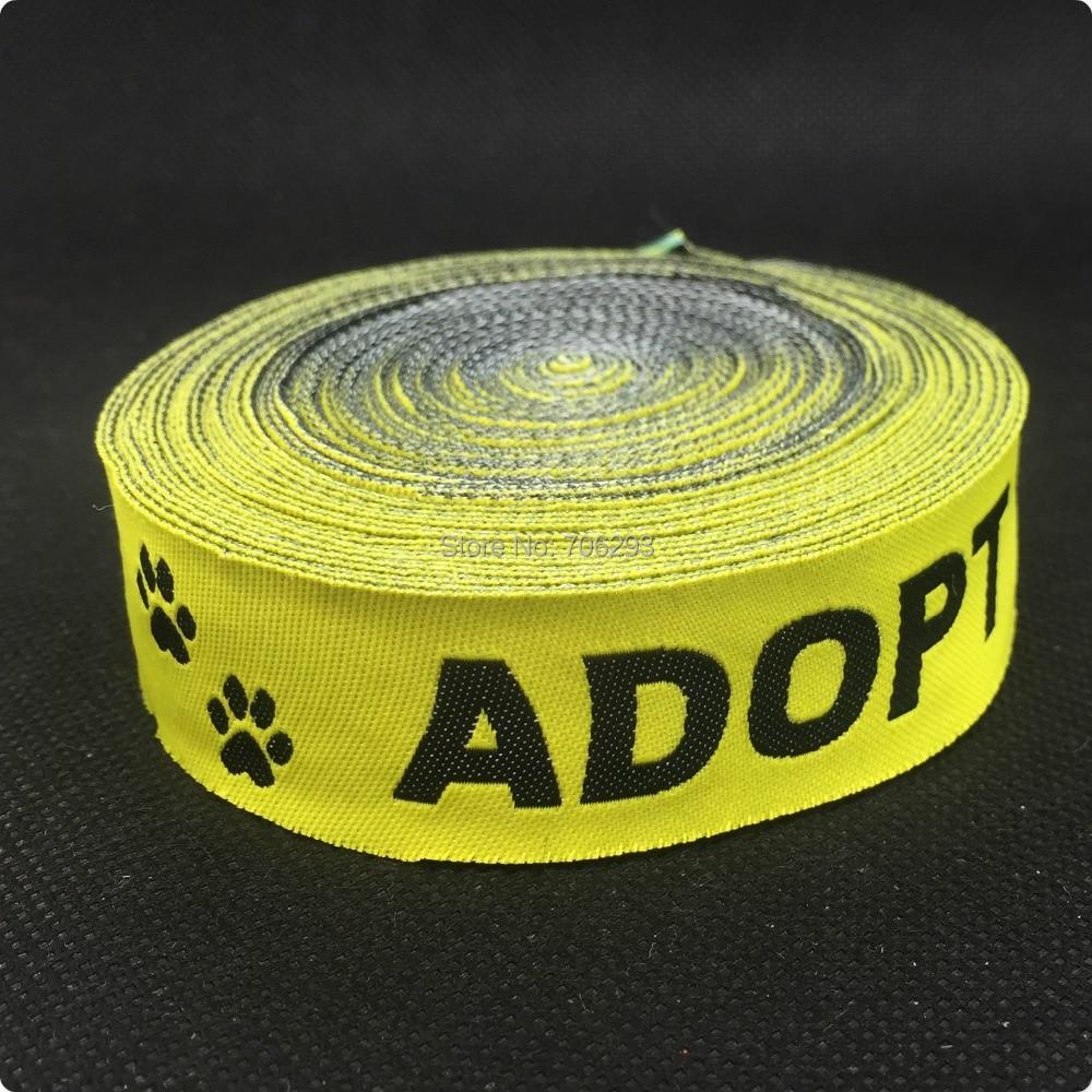 ZERZEEMOOY NEW wholesale 7/8' 22 mmx10yards 100% Polyester Woven Jacquard Ribbon cartoon ribbon Adopt me