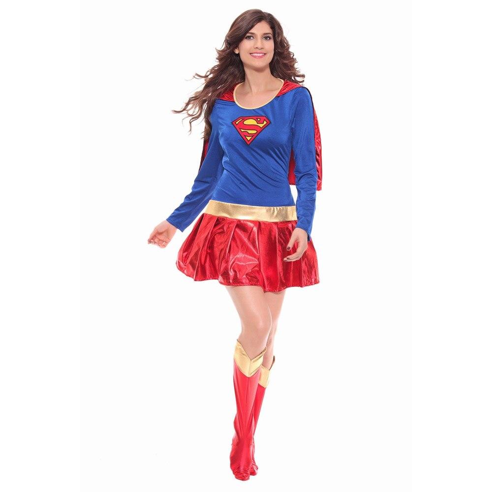 Super-herói super-herói adulto traje de halloween trajes de super-her ói