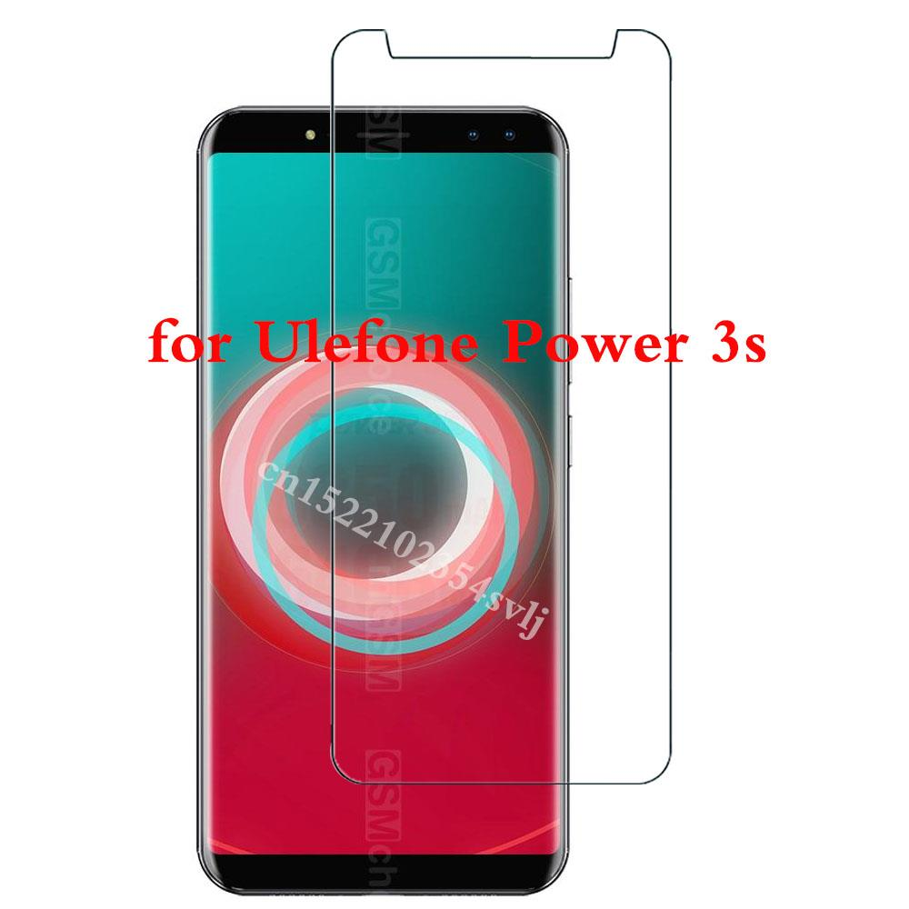 Tempered Glass for Ulefone Power 3s Screen Protector cover Explosion-proof Mobile phone Film for Ule