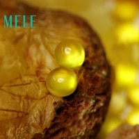 natural golden yellow prehnite 7x7mm 1 9ct loose stone diy stone matching designer stone matching round for women
