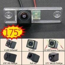 175 grados 1080P de ojo de pez coche cámara de visión trasera inversa para Toyota Land Cruiser Prado Asia 2009, 2010, 2011, 2012, 2013 LC150 LC120