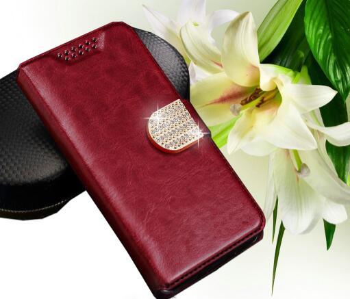 "Funda de PU de cartera directa de fábrica para Philips S307 funda para Philips S309 funda de libro ranuras para tarjetas para Philips X586 5 ""de moda"