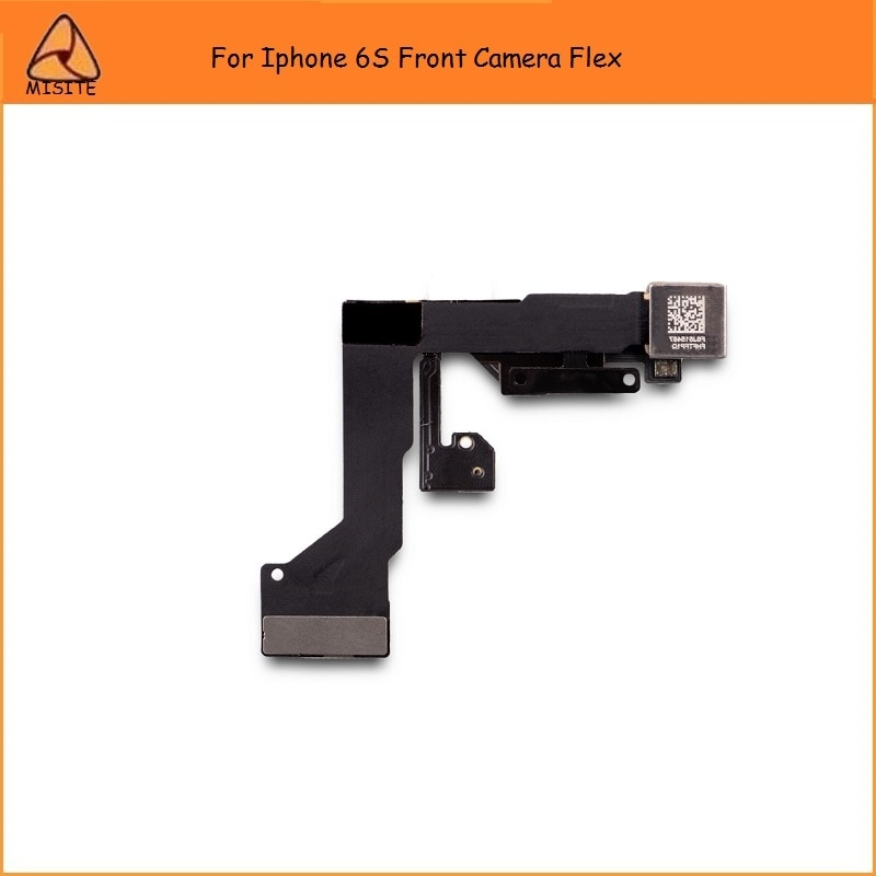 """Get 50PCS/LOT Tested Front Camera Flex for iPhone 6S 4.7""""Small Little Camera Lens with Proximity Light Sensor Flex Cable Parts"""