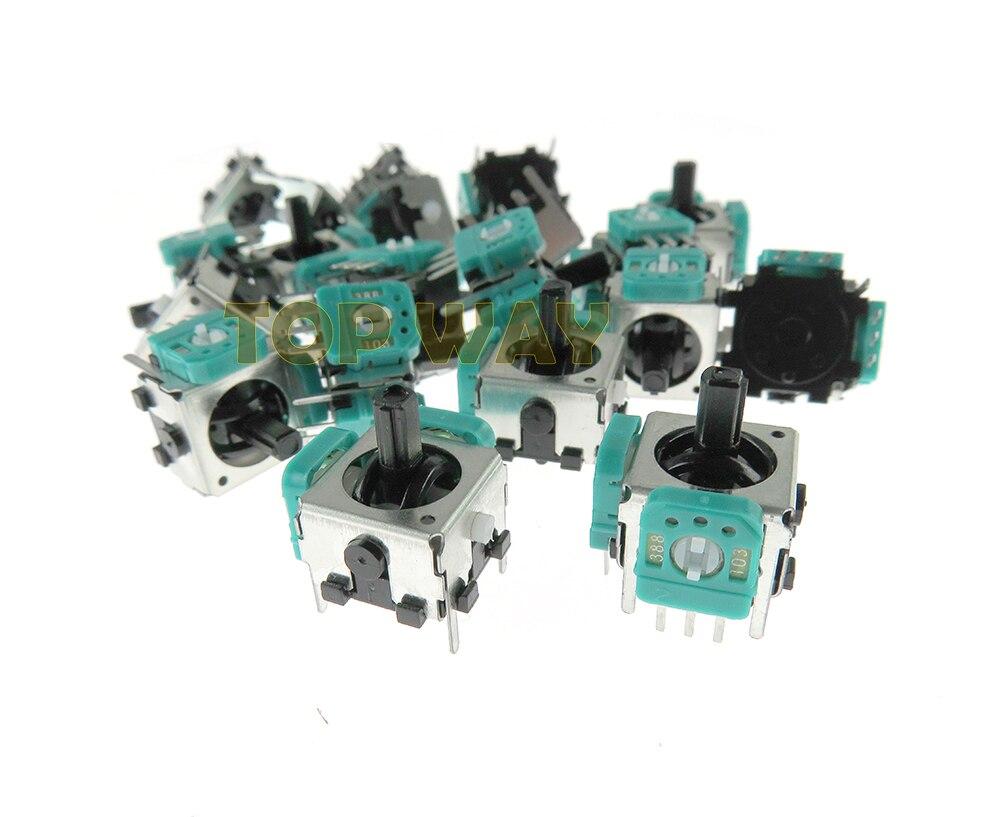 ChengChengDianWan 3D controlador Joystick Módulo sensor analógico pieza de reparación para Gamecube 3D analógico para consola NGC 100 unids/lote