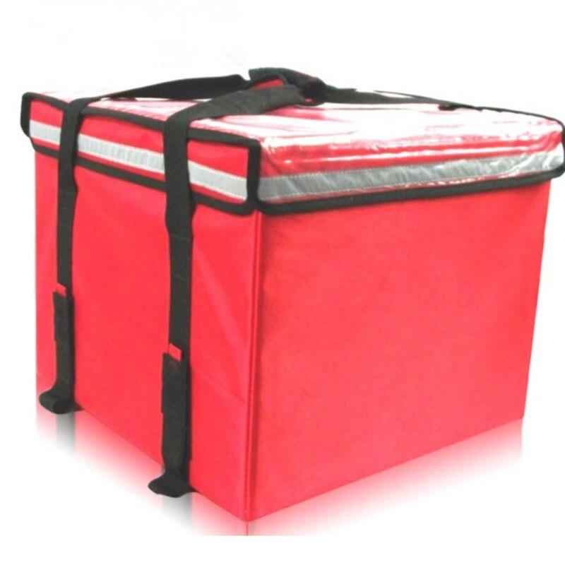 حقيبة يد حقيبة كبيرة للأغذية والمشروبات سيارة الجذع الثلاجة العزل الأسر مقاوم للماء حقيبة الغداء الساخن برودة أكياس 61 لتر