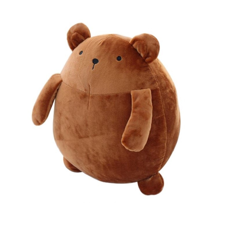 28cm oso de peluche Kawaii Molang Oso de patata peluche muñeca suave almohada de felpa decoración de la boda Anime niños regalo S3168