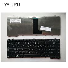 YALUZU russe RU noir nouveau pour Toshiba L600D C600D L640 L630 C640 L745 L700 L730 L645 clavier dordinateur portable russe
