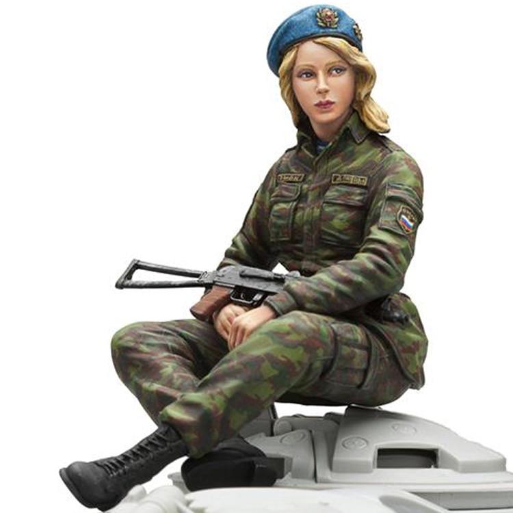 1/16 каучуковые фигурки солдатики комплект русская женщина пехота (без танка) Неокрашенные и Несобранные 454 г