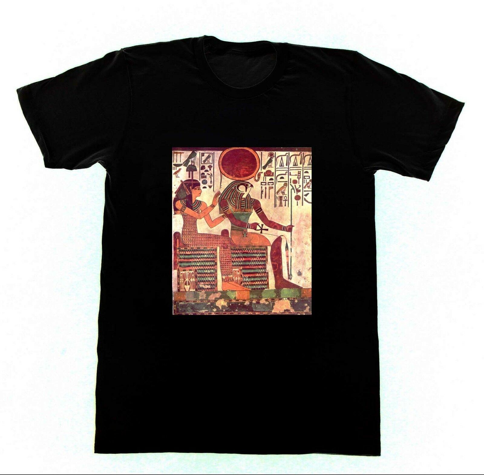 Модная футболка Ra & Isis, футболка унисекс с египетской магией, египетским фараоном, 2019