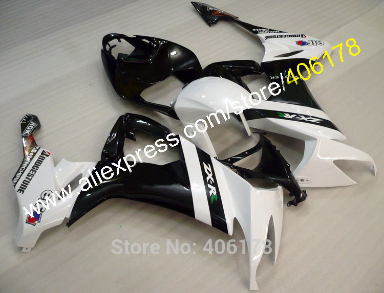 For zx10r Fairing NINJA 2008-2010 ZX-10R 08 ZX10R 09 ZX 10R 10 Customized Fairing Kits (Injection molding)