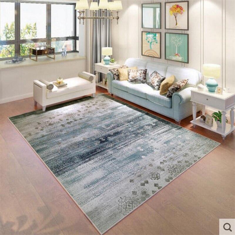 Diseño Original suave estilo nórdico alfombras de moda para sala de estar dormitorio para niños alfombras hogar felpudo para el suelo alfombras